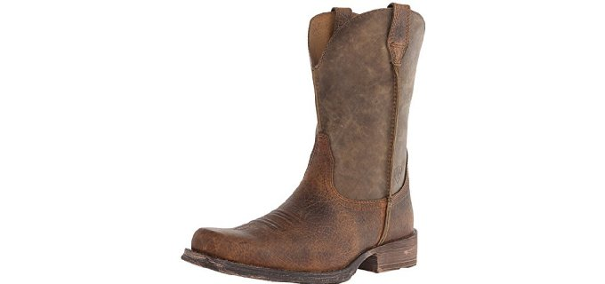 Ariat Men's Rambler - Western Style Pull On Work Boot