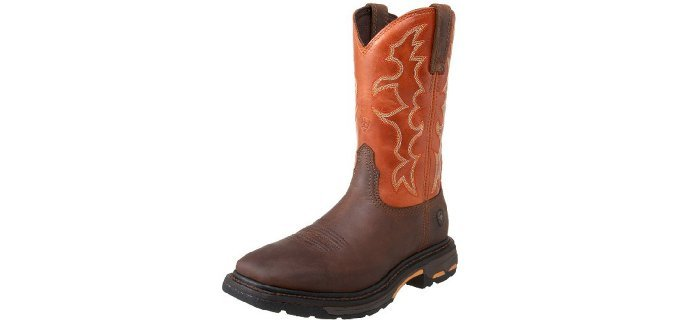 Ariat Men's Workhog - Wide Square Toe western Work Boot
