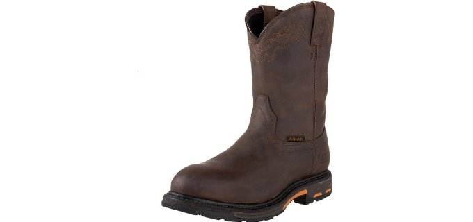 Ariat Men's Work Hog H2O - Pull-on Waterproof Work Boot
