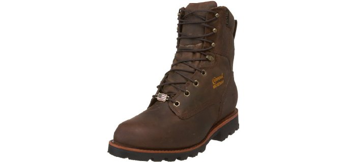 Chippewa Men's 29416 8 Inch - Waterproof Insulated Work Boots