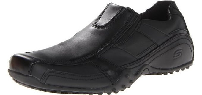 Skechers Men's Rockland-Hooper - Low Cut Pull On Work Boots
