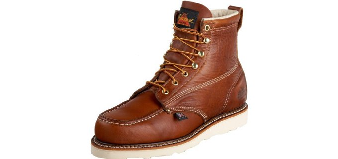 Thorogood Men's American Heritage - Moc Toe Work Boot for Auto Mechanics