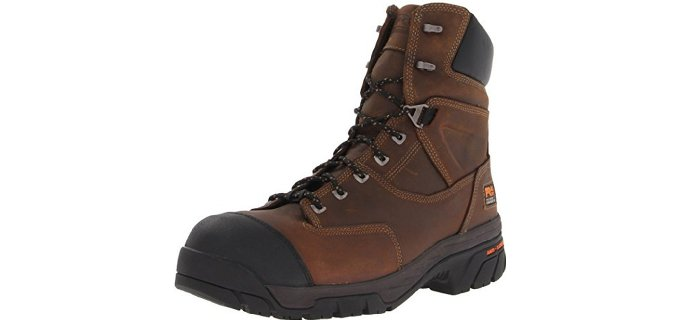 Timberland Men's Helix 8 Inch - Insulated Composite Toe Work Boots