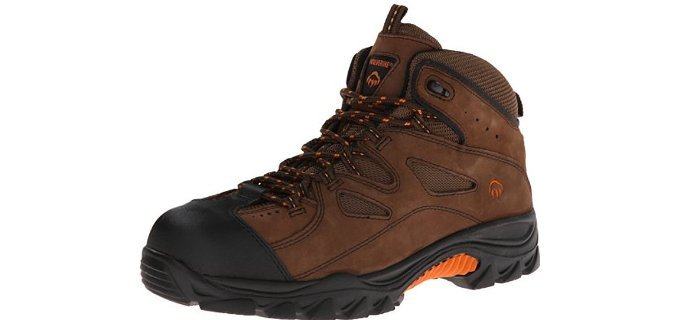 Wolverine Men's Hudson - Hiking Style Auto Mechanical Work Boot