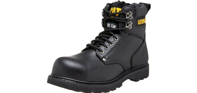 Caterpillar Men's Second Shift - Six Inch Steel toe Mechanic Work Boot