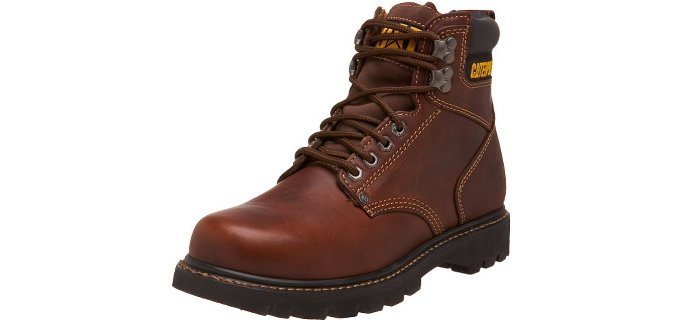 Caterpillar Men's Second Shift - Soft Toe American Work Boot
