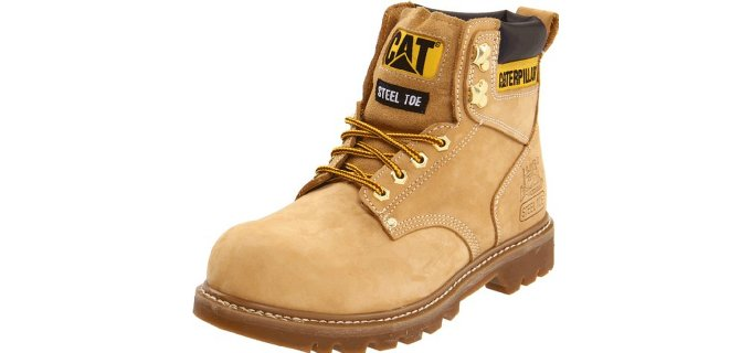 Caterpillar Men's Second Shift - Steel Toe Work Boot