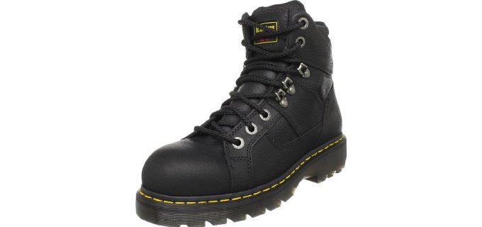 Dr. Martens Men's Iron Bridge - Auto Mechanic Safety Toe Work Boot