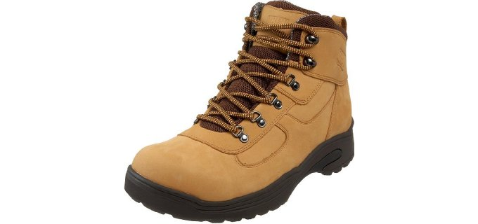 Drew Shoe Men's Rockford - Theraputic Orthopedic Work Boots