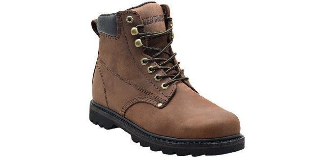 EVER BOOTS Men's Tank Work Boots - Soft Toe Work Boots for Painters