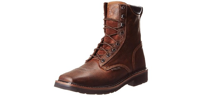 Justin Original Men's Stampede - Lace Up Work Boot