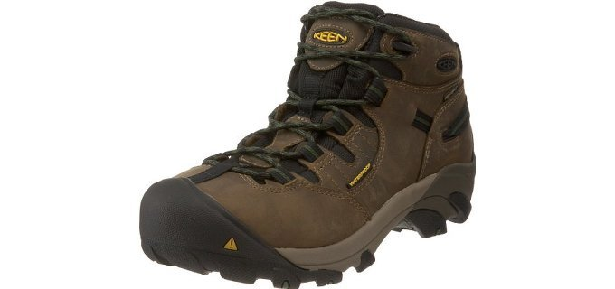 Keen Utility Men's Detroit - Steel Toe Construction Work Boot