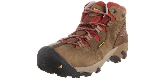 Keen Utility Women's Detroit - Mid Steel Toe Construction Work Boot