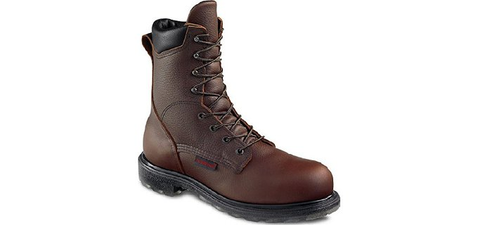 Red Wing Work Boots Reviews - Steel and Aluminum Toes