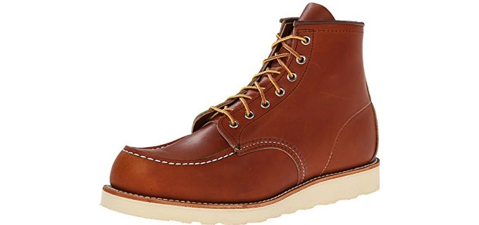Red Wing Men's Heritage Moc - Hot Weather and Summer Work Boots