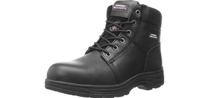 Skechers for Work Men's Workshire - Affordable Relaxed Fit Steel Toe Work Boots
