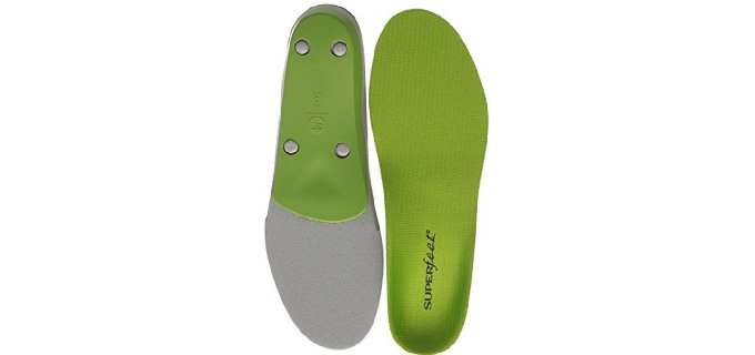 Superfeet Men's Premium - Comfortable Insoles for Work Boots