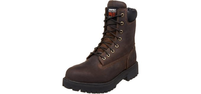 Timberland Pro Men's Direct Attach - 8 Inch Waterproof Work Boot