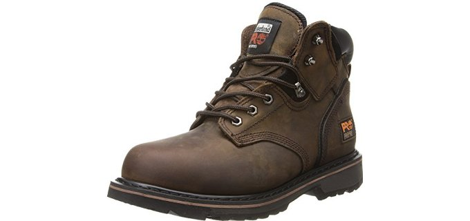 Timberland Pro Men's Pitboss - Cheaper Steel Toe Work Boot
