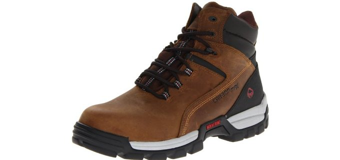 Wolverine Men's Tarmac - waterproof Work Boot for Plantar Fasciitis