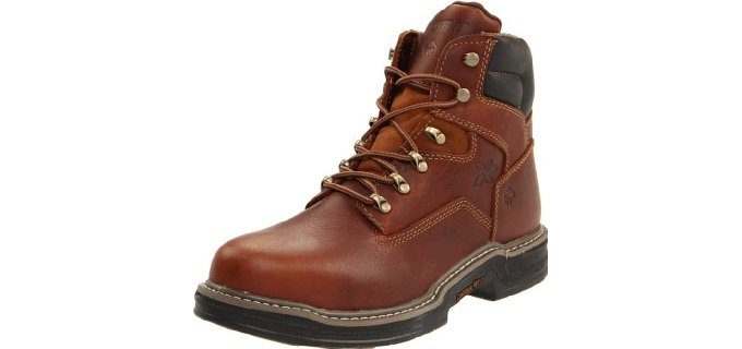 Wolverine Men's Raider - Comfortable Work Boot For Plantar Fasciitis