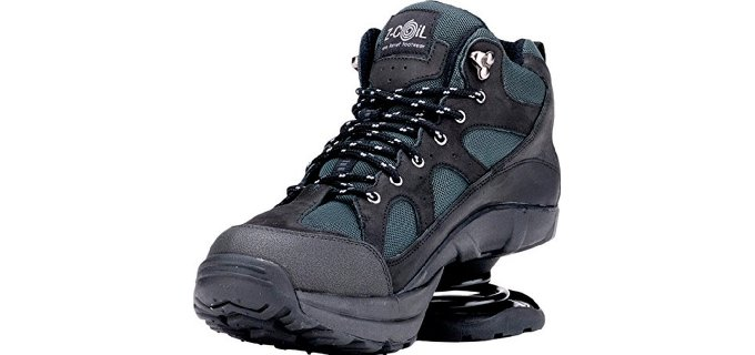 Z-CoiL Men's Outback - Therapeutic Orthopedic Boots