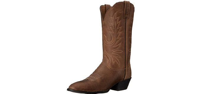 Ariat Women's Heritage - Round Toe Western Work Boot