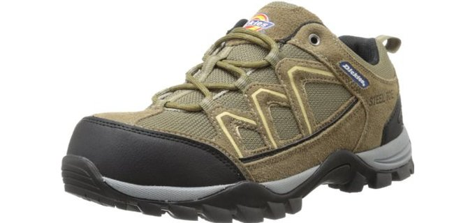 Dickies Men's Solo - Cheap Steel Toe Summer Work Shoes