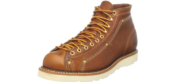 Thorogood Men's American Heritage - Lace to Toe Roofer Boot