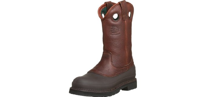 Georgia Men's Mud Dog ST  - Comfort Core Landscaping Boot