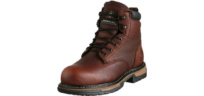 Rocky Men's Iron Clad Six Inch ST - Landscaping Boots