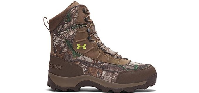 Under Armor Men's UA Brow Tine - Comfortable Warm Hunting Boots
