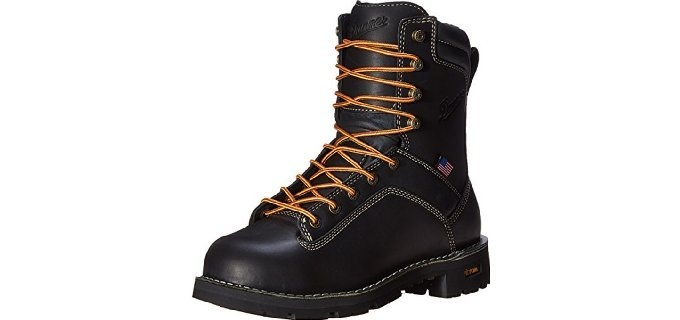 Danner Men's Quarry USA - 8 Inch Alloy Toe Slip Resistant Boot
