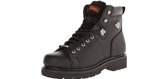 Harley Davidson Men's Barton - Lace-To-Toe Motorcycling Boot