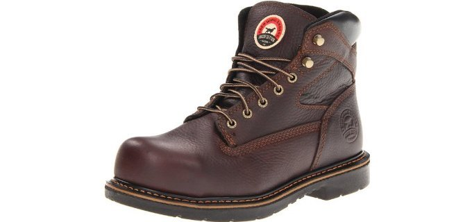 Red Wing Men's Irish Setter 83624 - 6 Inch Steel Toe Work Boots