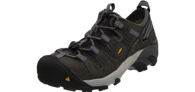 Keen Utility Men's Atlanta Cool ESD - Steel Toe Summer Slip and Oil-Resistant Boots