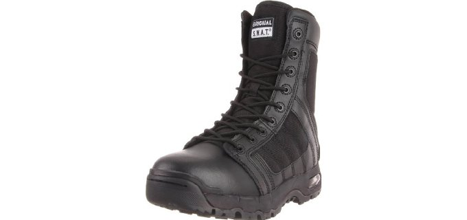 Original S.W.A.T. Men's Metro Air 9-Inch - Side-Zip Tactical Boot