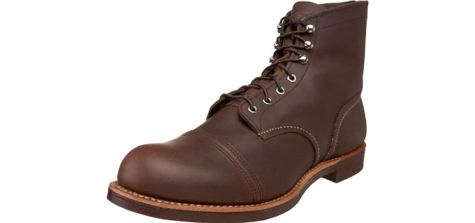 Red Wing Men's Heritage Iron Ranger - 6 Inch Slip and Oil Resistant Work Boot