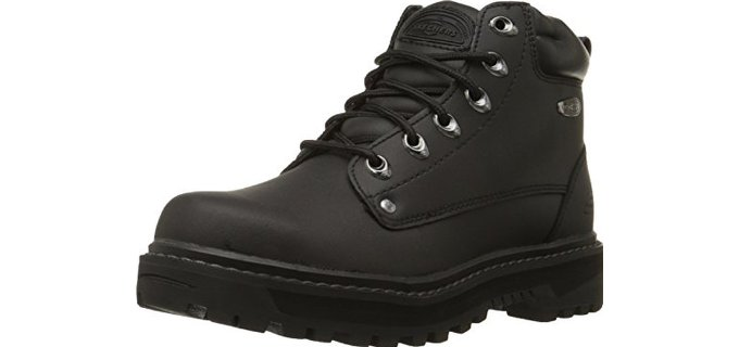 Skechers USA Men's Pilot - Utility Motorcycling Boot