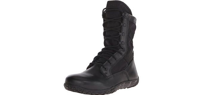 Tactical Research Men's TR102 Mini-Mil - Black Goretex Minimalist Boots