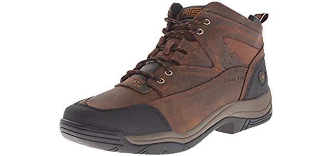 Ariat Men's Terrain Work Boots - Square Toe Lacer Work Boots