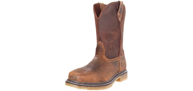 Ariat Men's Rambler - Square Toe Ariat Work Boot with ATS Technology