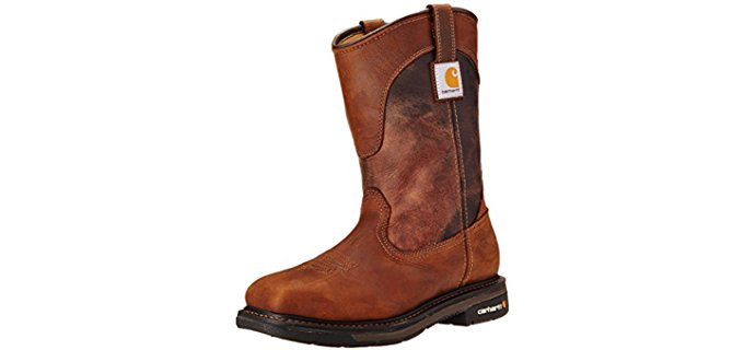 Carhartt Men's Wellington - Safety Square Toe Work Boot
