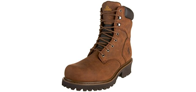 Chippewa Men's 55025 - Steel Toe Logger Work Boot