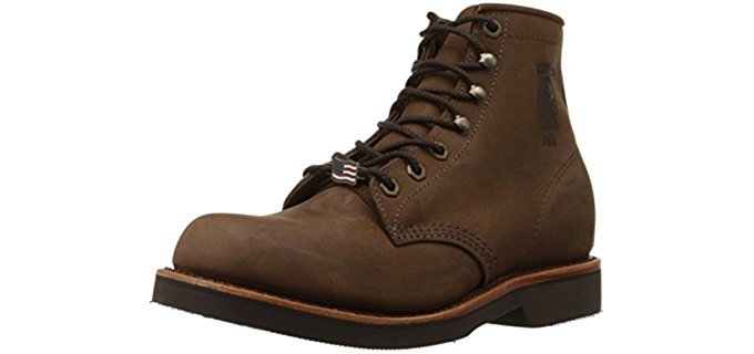 Chippewa Men's Handcrafted - Rugged and Stylish Work Boots