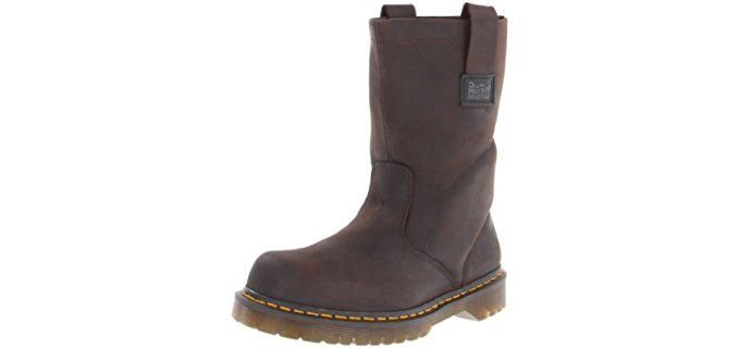 Dr. Martens Men's Industrial - Soft Toe Wellington Work Boot