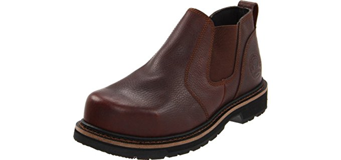 Irish Setter Men's Romeo - Steel Toe EH Safety Pull On Low Top Work Boot
