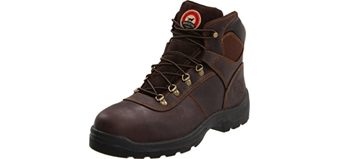 Irish Setter Men's 83608 - Steel Toe Work Boot for Standing All Day