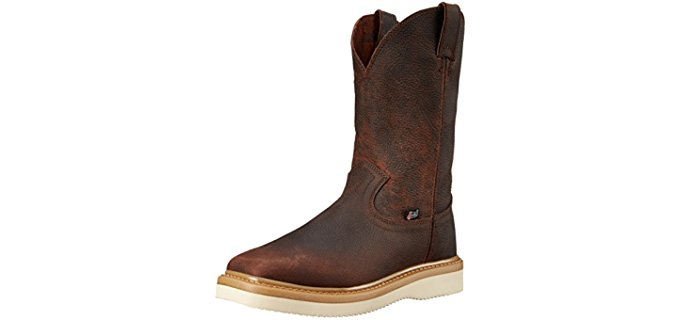 Justin Original Men's Light Duty - Square Toe Work Boot