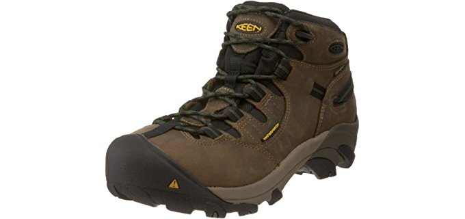 Keen Utility Men's Detroit - Stay Dry delivery Driver Work Boot